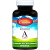 Carlson Labs, Vitamin A, 25,000 IU, 250 Soft Gels