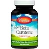 Carlson Labs, Super Beta Carotene, 25,000 IU (15 mg), 250 Soft Gels (Discontinued Item)