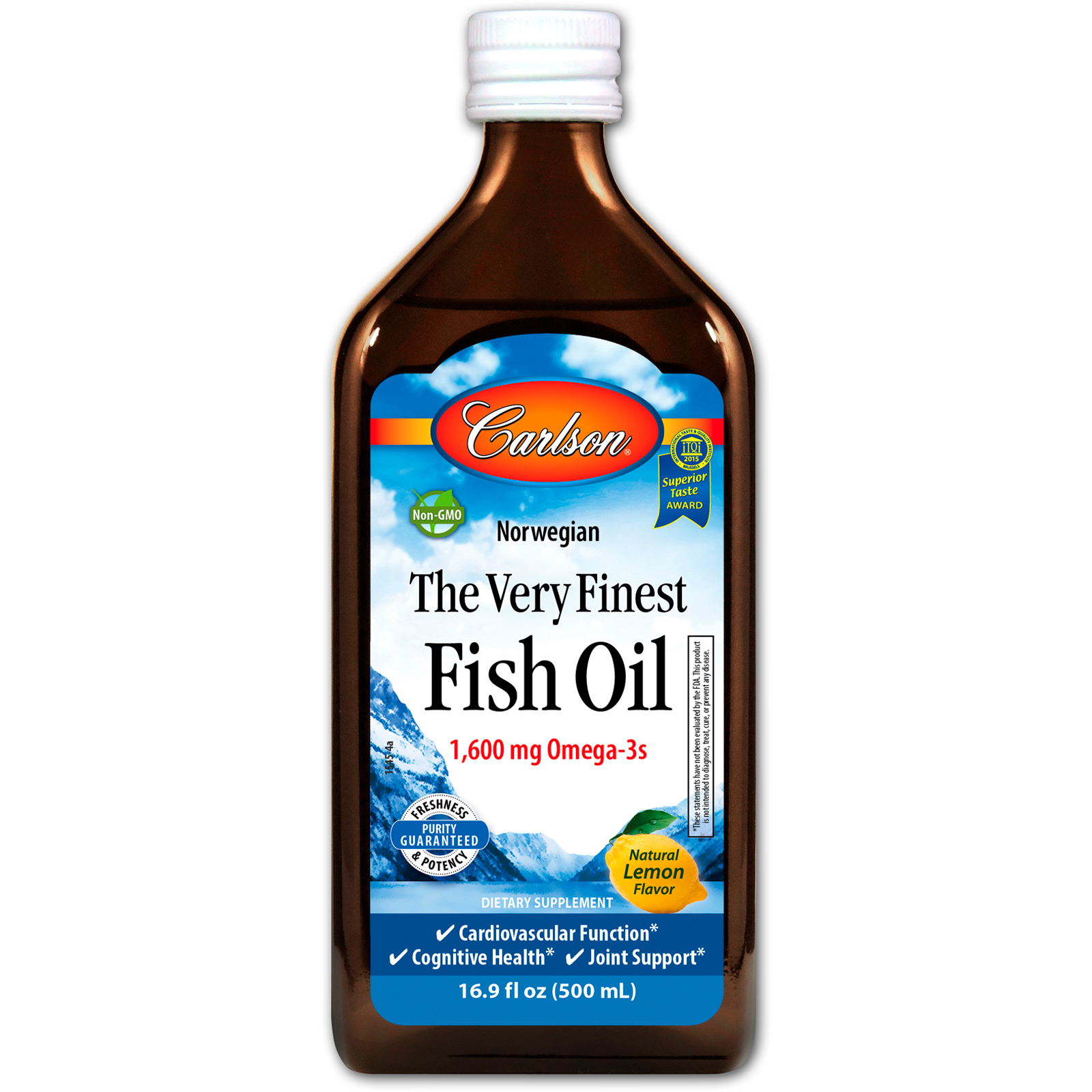 Carlson labs norwegian the very finest fish oil natural for Best quality fish oil