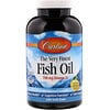 Carlson Labs, The Very Finest Fish Oil, Natural Lemon Flavor, 700 mg, 240 Soft Gels