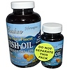 Carlson Labs, The Very Finest Fish Oil, Natural Orange, 1,000 mg, 2 Bottles, 120+30 Softgels