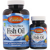 Carlson Labs, The Very Finest Fish Oil, Natural Orange Flavor, 700 mg, 120 Cápsulas Softgel + 30 Gratuitas