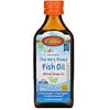 Carlson Labs, Kid's Norwegian, The Very Finest Fish Oil, Natural Orange Flavor, 800 mg, 6.7 fl oz (200 ml)