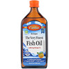 Carlson Labs, Norwegian, The Very Finest Fish Oil, Natural Orange Flavor, 1,600 mg, 16.9 fl oz (500 ml)