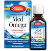 Carlson Labs, Med Omega, Norwegian Fish Oil Concentrate, Lemon-Lime Flavor, 3.3 fl oz (100 ml)