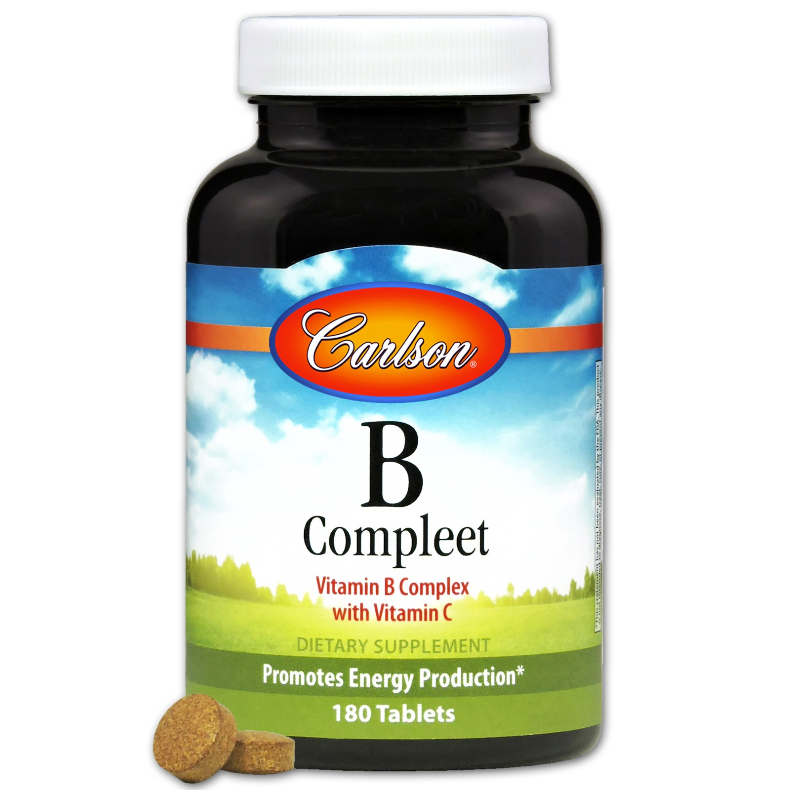 Carlson Labs, B Compleet, 180 Tablets