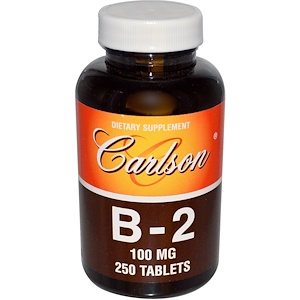 Карлсон Лэбс, B-2, 100 mg, 250 Tablets отзывы