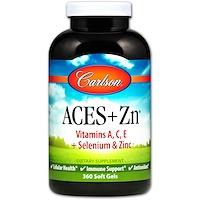 Витамины АСЕ + Цинк, 360 Гелевых Капсул - фото