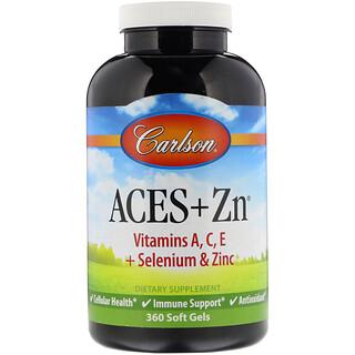 Carlson Labs, Aces +٣٦٠ كبسوله جيلاتينيه من الزنك