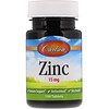Carlson Labs, Zinc, 15 mg, 100 Tablets