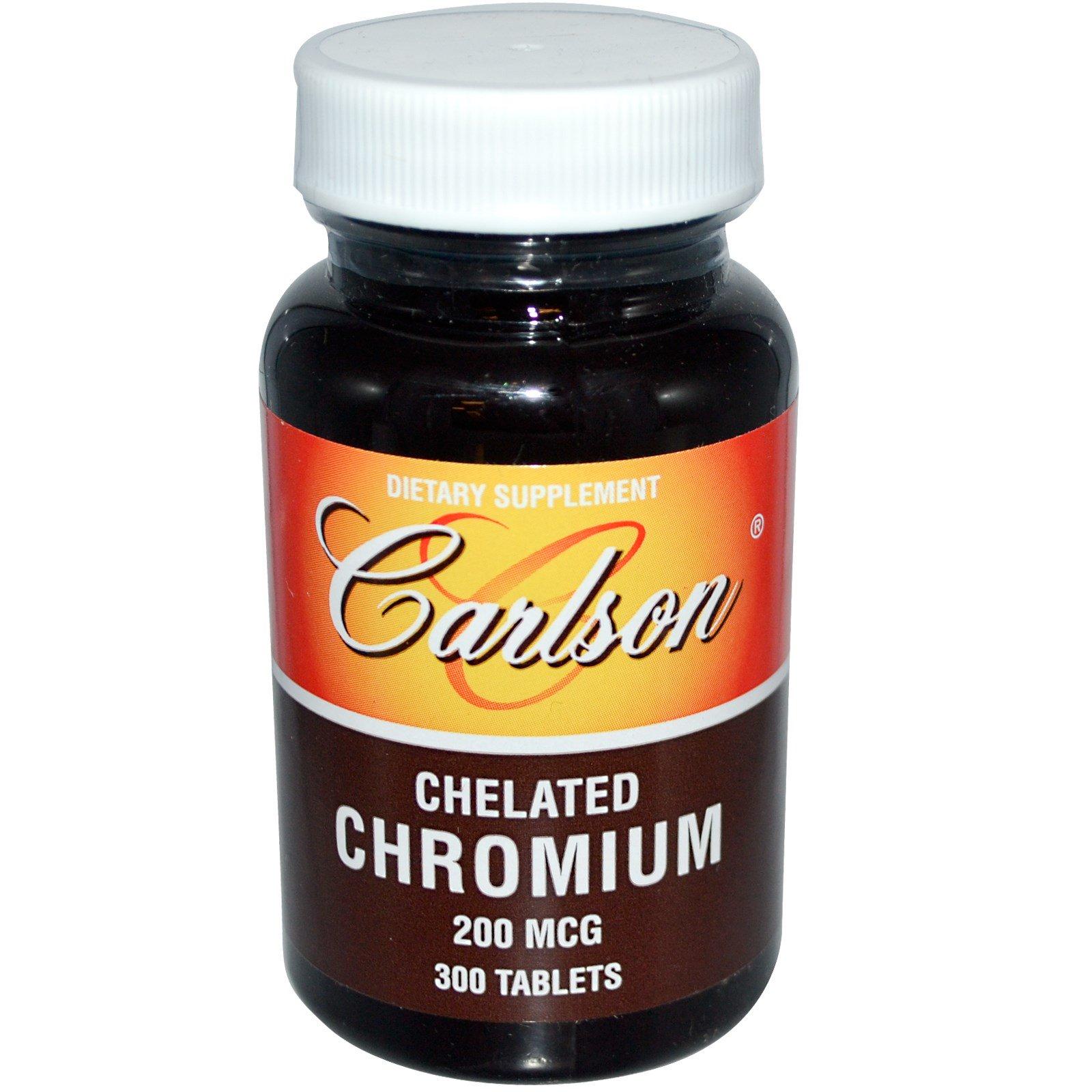 Carlson Labs, Хром Хелат 300 таблеток