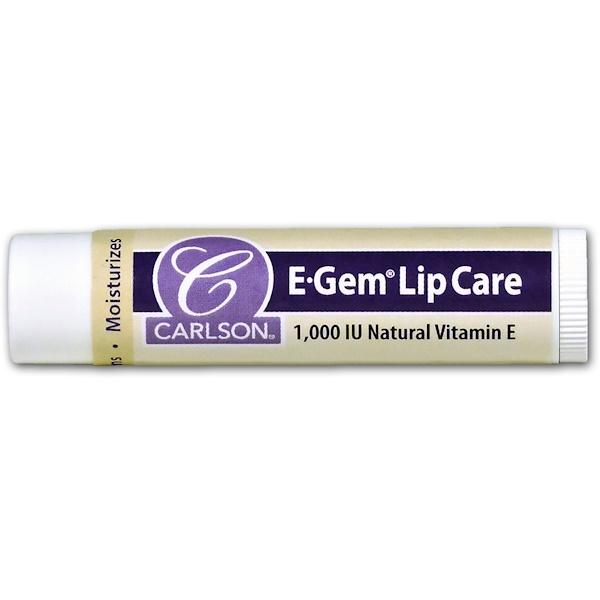 Carlson Labs, E Gem, Lip Care, 1000 IU, 0.15 oz (4.3 g)