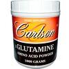 Carlson Labs, L-Glutamine, Amino Acid Powder, 1000 g (Discontinued Item)