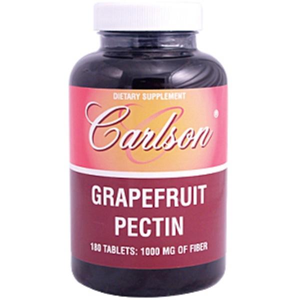Carlson Labs, Grapefruit Pectin, 1000 mg, 180 Tablets (Discontinued Item)