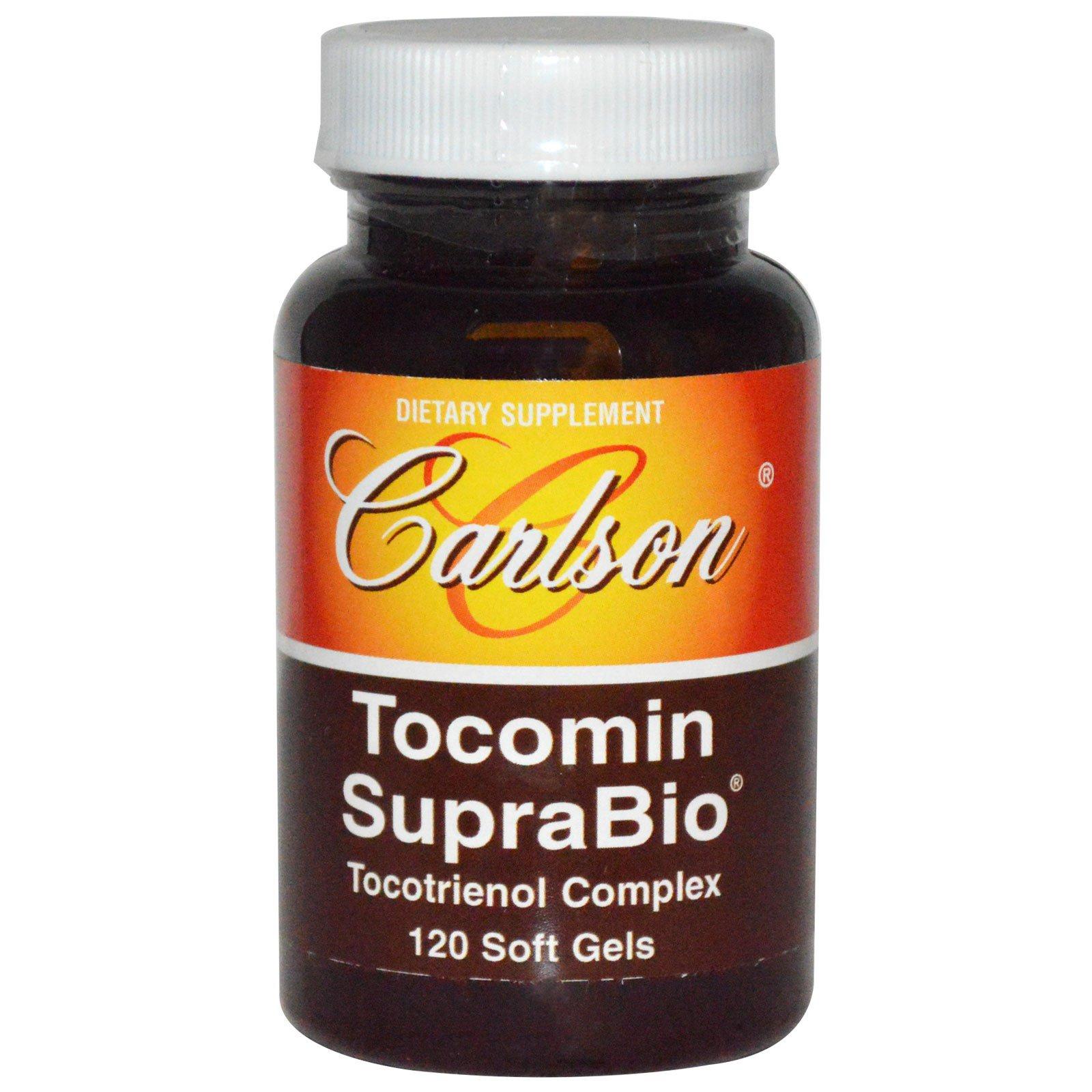 Carlson Labs, Tocomin SupraBio, 120 капсул
