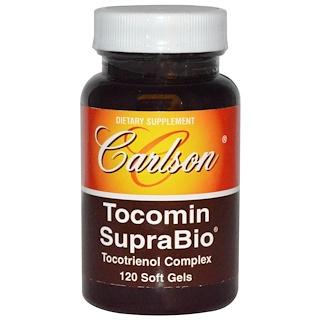 Carlson Labs, Tocomin SupraBio, 120 Softgels
