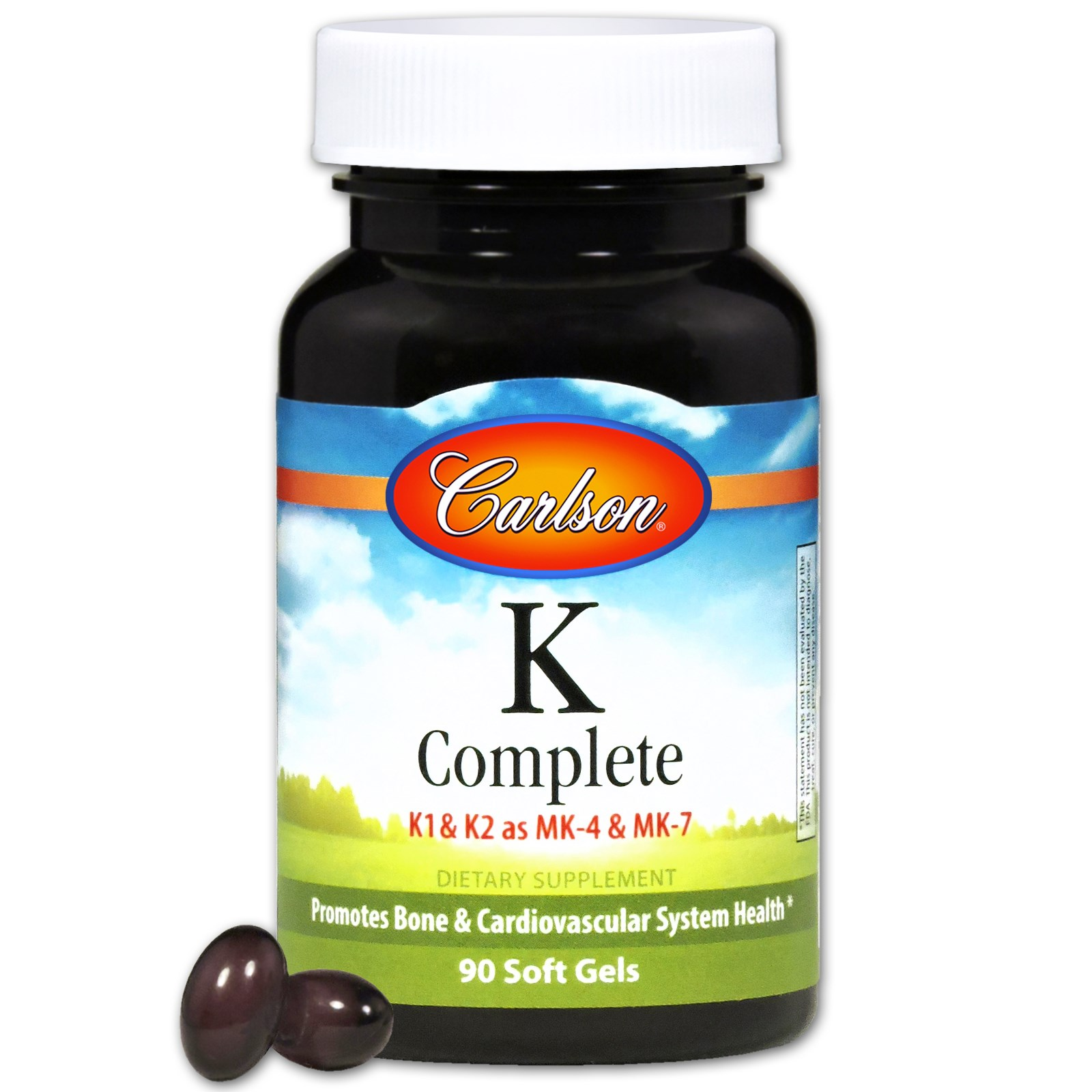Carlson Labs, K-Complete, 90 капсул