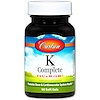 Carlson Labs, K-Complete, 90 Softgels (Discontinued Item)