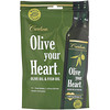 Carlson Labs, Olive Your Heart, Olive Oil & Fish Oil, Basil Flavor, 1,480 mg, 15 Packets, 15 ml Each