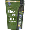Carlson Labs, Olive Your Heart, Olive Oil & Fish Oil, Garlic Flavor, 1,480 mg, 15 Packets, 15 ml Each