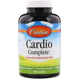 Carlson Labs, Cardio Complete, Advanced Cardiovascular Multi, 180 Tablets