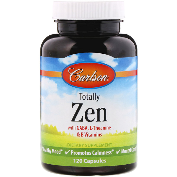 Carlson Labs, Totally Zen, 120 Capsules