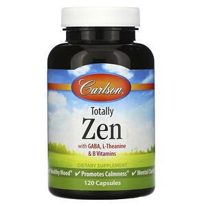 Карлсон Лэбс, Totally Zen, 120 Capsules отзывы