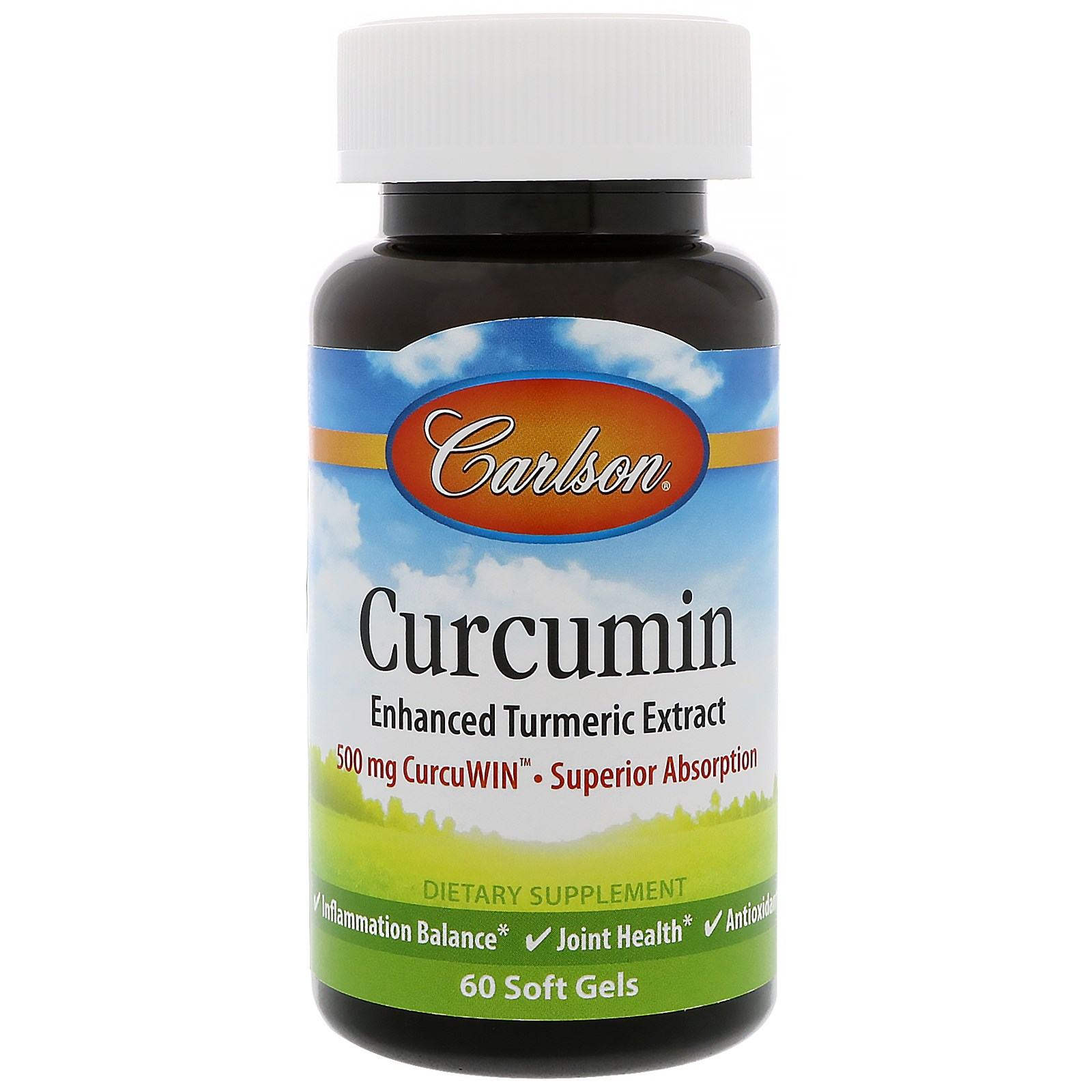 Carlson Labs, Curcumin, 60 Softgels