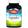 Carlson Labs, Empty Vegetarian #1 Capsules, 200 Capsules