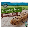 Cascadian Farm, Organic Chewy Granola Bars, Chocolate Chip, 6 Bars, 1.2 oz (35 g) Each