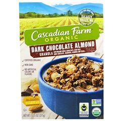 Cascadian Farm, Organic, Granola, Dark Chocolate Almond, 13.25 oz (375 g)