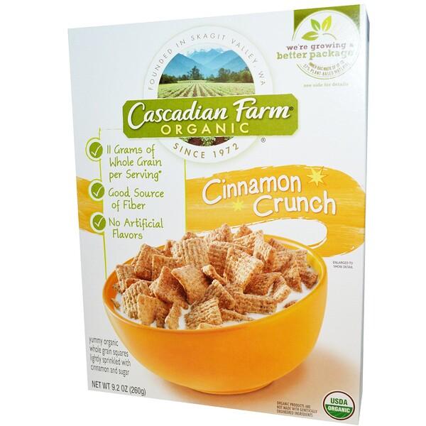 Cascadian Farm, オーガニック・シナモンクランチ (260 g)