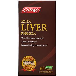 Catalo Naturals, Extra Liver Formula, 60 Vegetarian Capsules