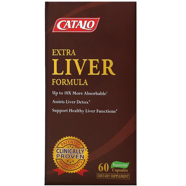特強肝臟配方,60 粒素食膠囊