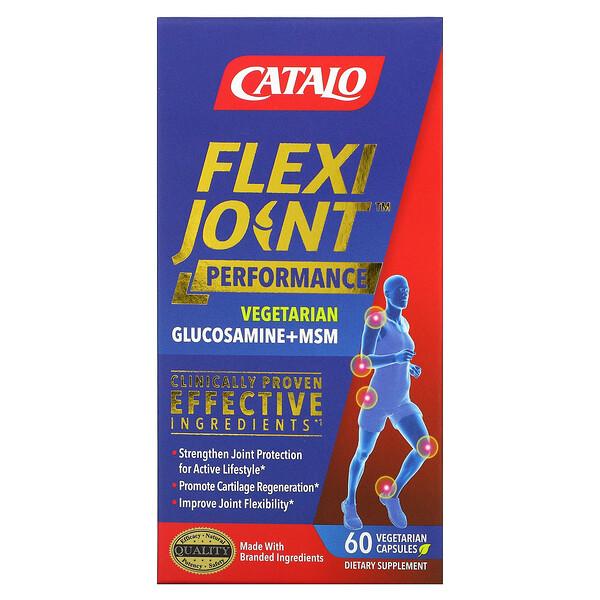 FlexiJoint Performance, Glucosamine & MSM, 60 Vegetarian Capsules