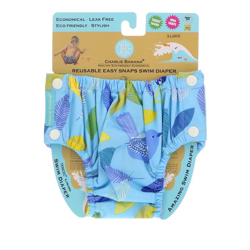Reusable Easy Snaps Swim Diaper, X-Large, 1 Diaper