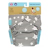 Charlie Banana, Reusable Diapering System, One Size, Twinkle Little Star White, 1 Diaper