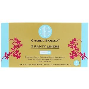 Чарли Банана, Panty Liners, White, 3 Liners + 1 Tote Bag отзывы