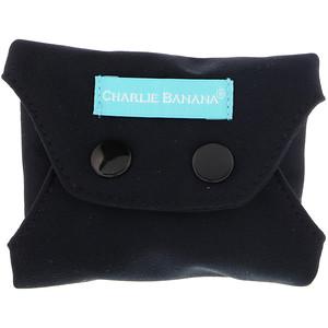 Чарли Банана, Panty Liners, Black, 3 Liners + 1 Tote Bag отзывы