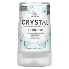 Crystal Body Deodorant, 礦物淨味棒,無味,1.5 盎司(40 克)