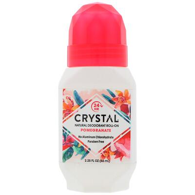 Купить Натуральный шариковый дезодорант, гранат, 66мл