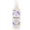 Crystal Body Deodorant, Desodorante Mineral Spray, Lavanda e Chá Branco, 4 fl oz (118 ml)