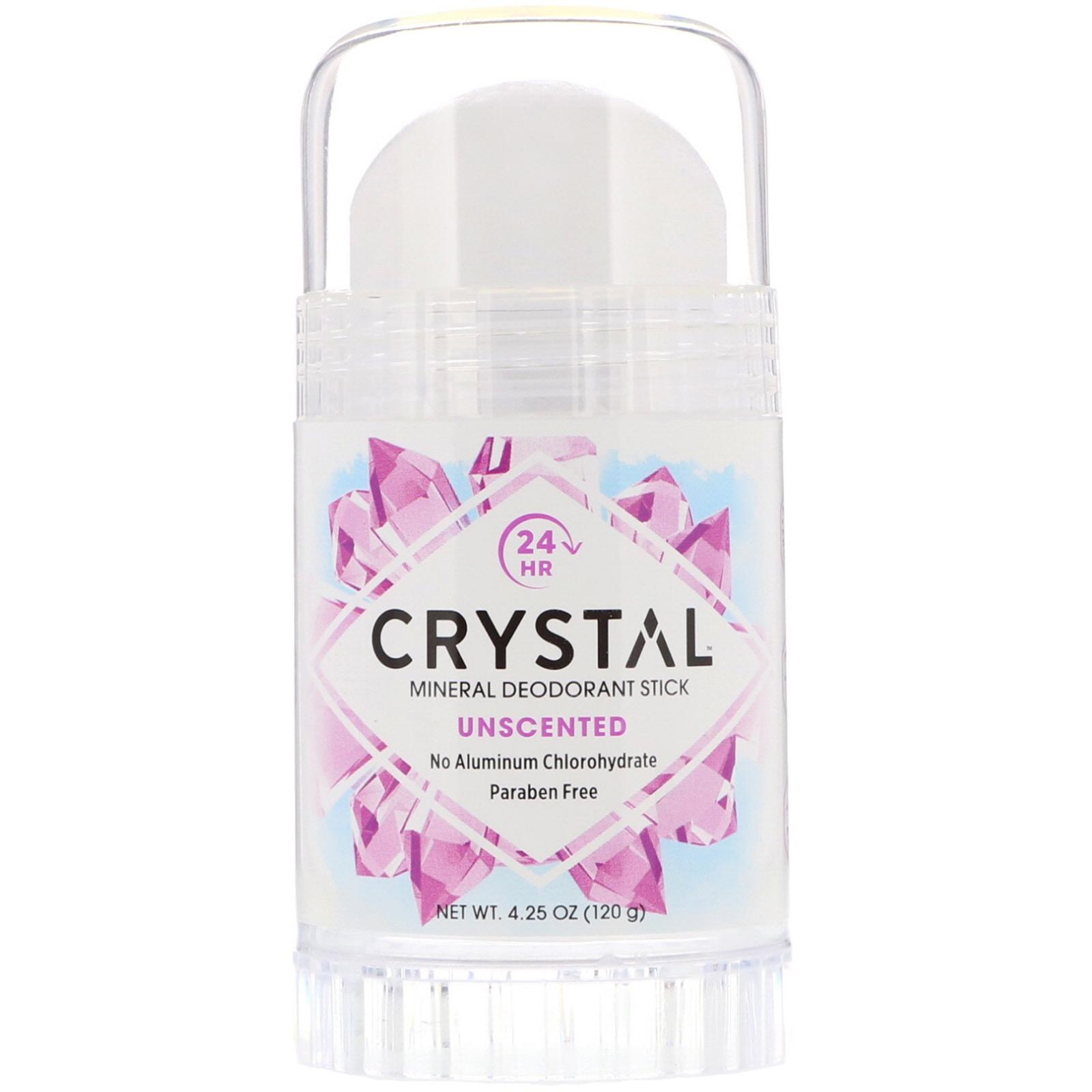 3384599a3 Crystal Body Deodorant, مزيل رائحة العرق بالمعادن، بدون رائحة، 4.25 ...
