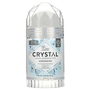 Crystal Body Deodorant, Mineral Deodorant Stick, Unscented, 4.25 oz (120 g)