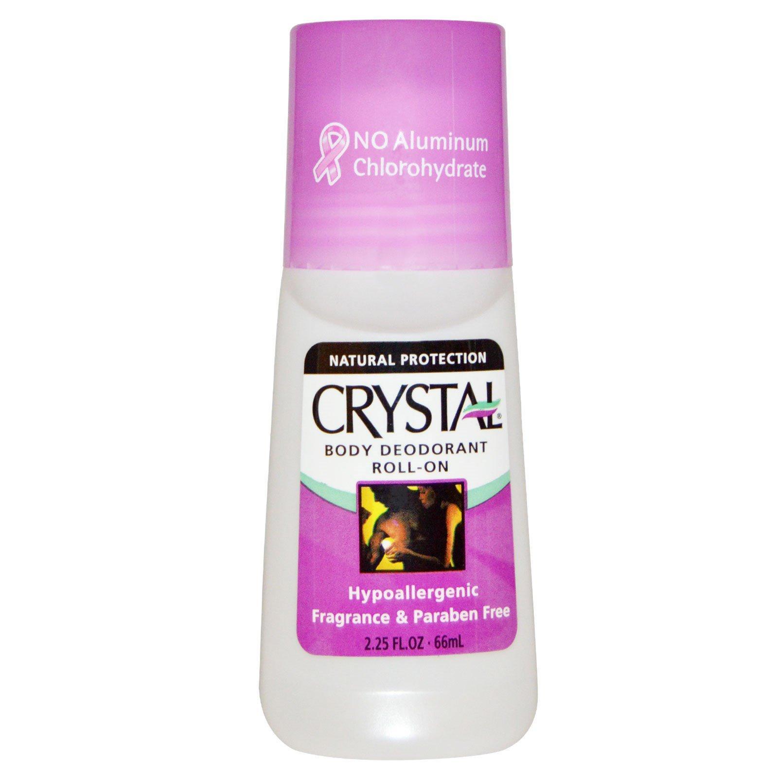 Crystal Body Deodorant, Шариковый дезодорант, 2.25 fl oz (66 мл)