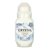Crystal Body Deodorant, Desodorante mineral roll-on, sin aroma, 2.25 fl oz (66 ml)