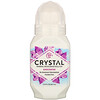Crystal Body Deodorant, Mineral Deodorant Roll-On, Unscented , 2.25 fl oz (66 ml)
