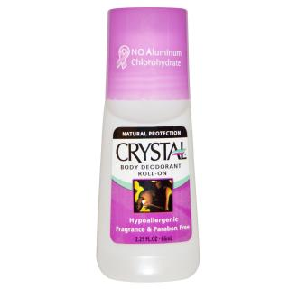Crystal Body Deodorant, Roll-On Body Deodorant, 2.25 fl oz (66 ml)