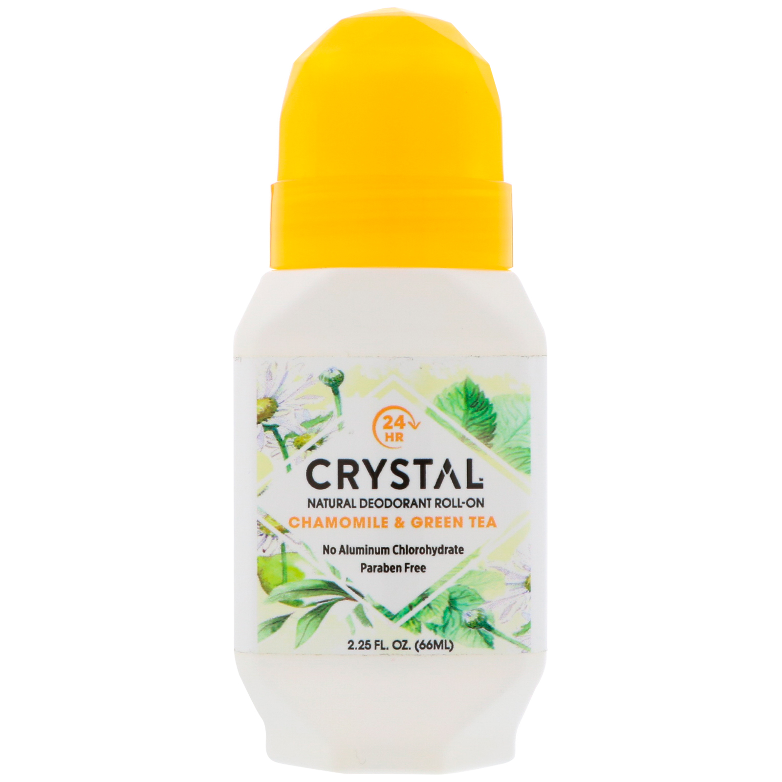 Tea Tree Crystal Deodrant roll on 50 ml