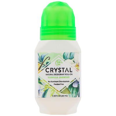 Купить Crystal Body Deodorant Натуральный шариковый дезодорант, Ваниль и жасмин, 2, 25 ж. унц.(66 мл)